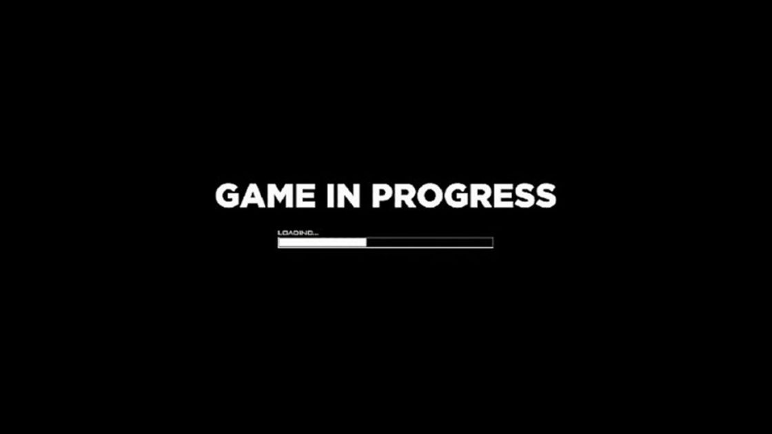 GAME IN PROGRESS TITLE IMAGE