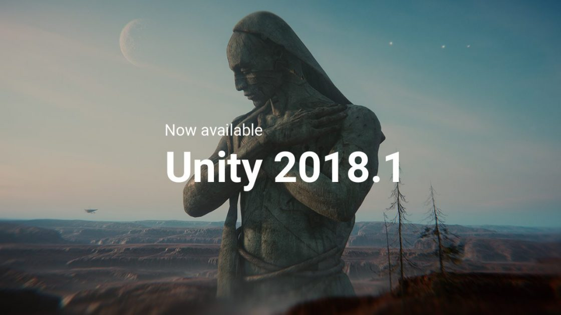 Unity 2018.1 now available cover picture